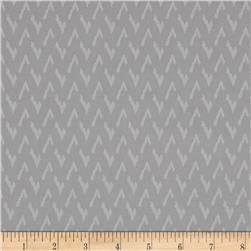 Silver Linings Chevron Gray