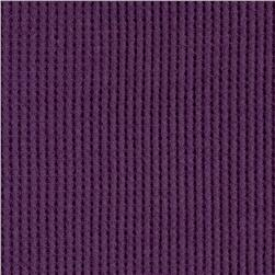 Cotton Thermal Knit Purple