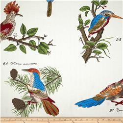 Bartow Rice Paper Prints Peacocks Multi