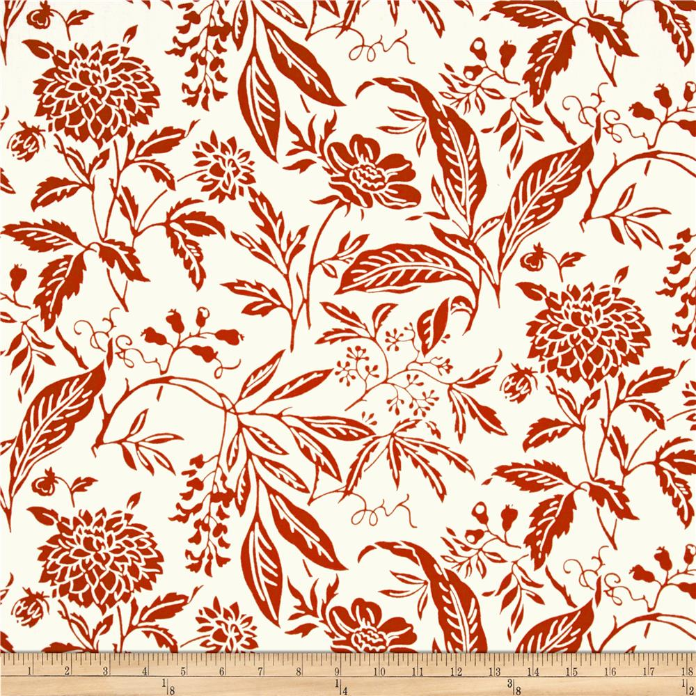Madison Mia Floral White/Red