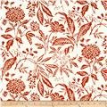 Madison Home Decor Mia Floral White/Red
