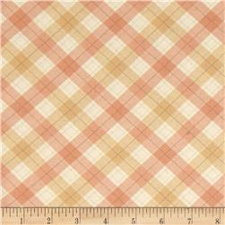 Fall Festival Plaid Pink/Brown