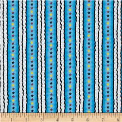 Snoopy Flying Ace Star Stripe Blue