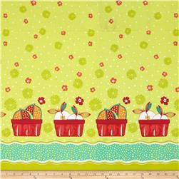 Cucina Fresco Fruit Basket Double Border Lime