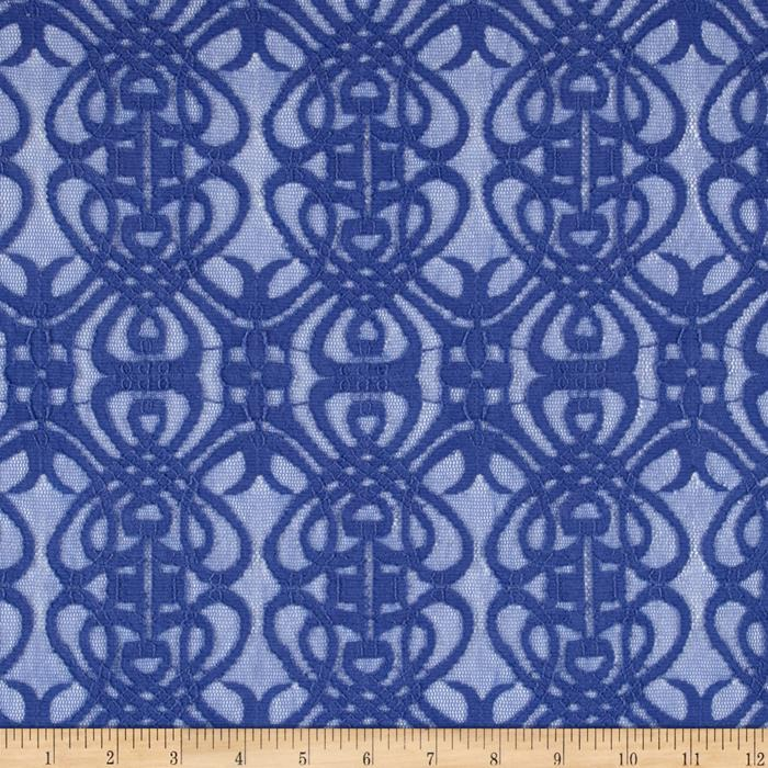 Chain Link Lace Periwinkle
