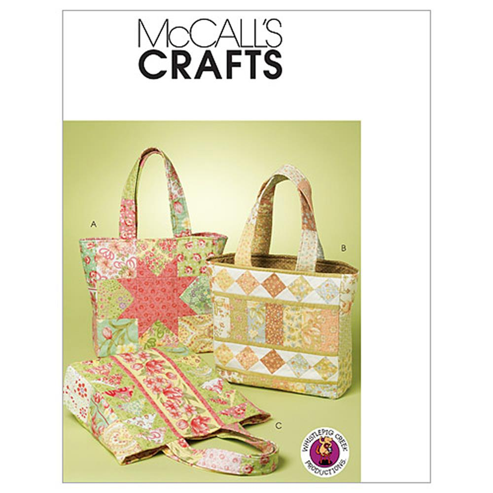 McCall's Bags Pattern M6094 Size OSZ
