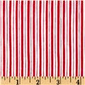 Maywood Studio Kimberbell Basics Little Stripe Red