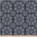 Fabricut Ahoy Embroidered Navy