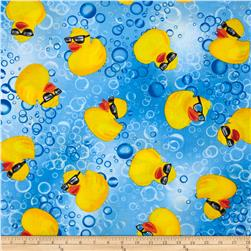 Kanvas Cry Baby Ducky Blue