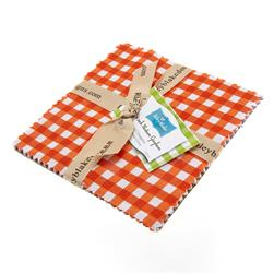 Riley Blake Basics Medium Gingham 5'' Stackers