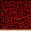Kanvas All's Wool That Ends Wool Woolly Bully Black/Red