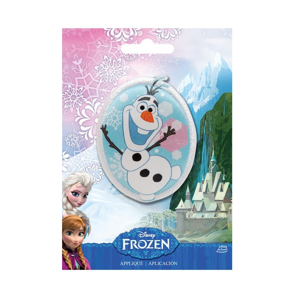 Disney Frozen Iron On Applique Olaf