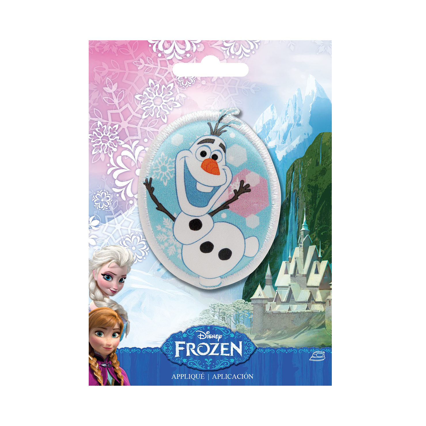 Disney Frozen Iron On Applique Olaf by Notions Marketing in USA