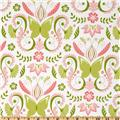 Michael Miller Bella Butterfly Butterfly Damask Bloom Pink