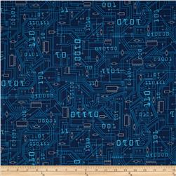 Plug & Play Circuit Board Navy