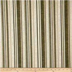 Normandy Court Pencil Stripe Brown/Cream