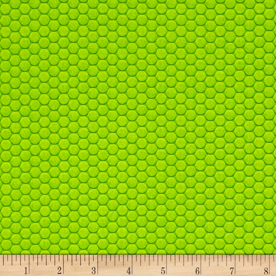 Ibot Hexi Grid Green Fabric by Red Rooster in USA