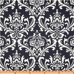 Premier Prints Ozborne Twill Navy Blue/White