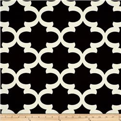 Premier Prints Fynn Onyx/Natural Fabric