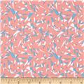 Graphix 3 Tossed Triangles Peach/Blue/White