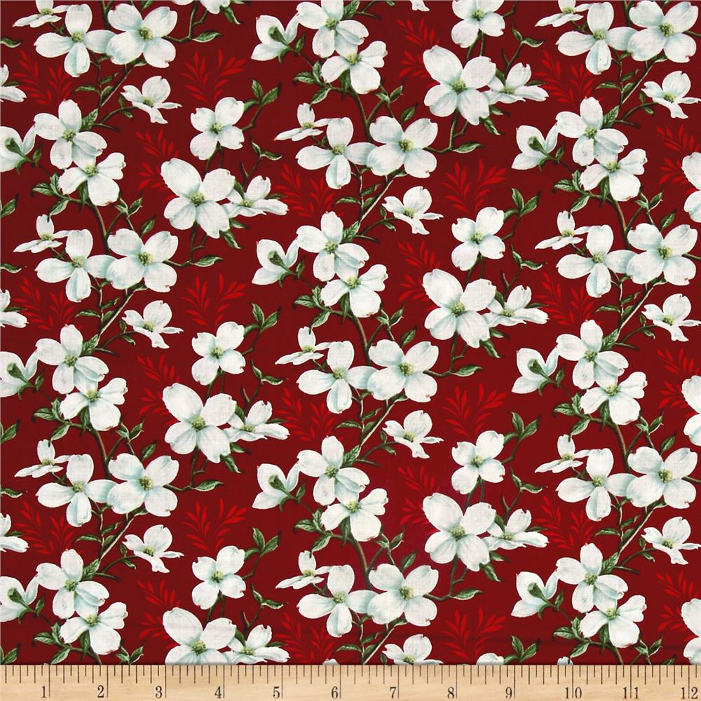 Dogwood Lane Medium Dogwood Flower Red