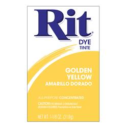 Rit Dye Powder Golden Yellow