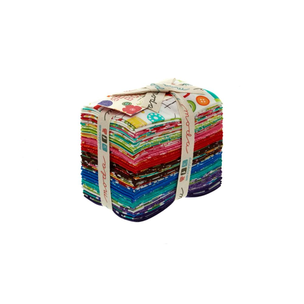 Moda Sewing Box Fat Eighths Assortment