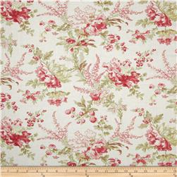 Moda Whitewashed Cottage Flourish Floral Linen