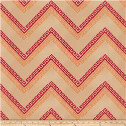 Fabricut Nandi Embroidered Ruby