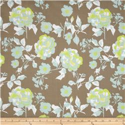 Riley Blake Kensignton Large Floral Grey