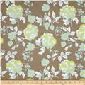 Riley Blake Kensington Large Floral Grey