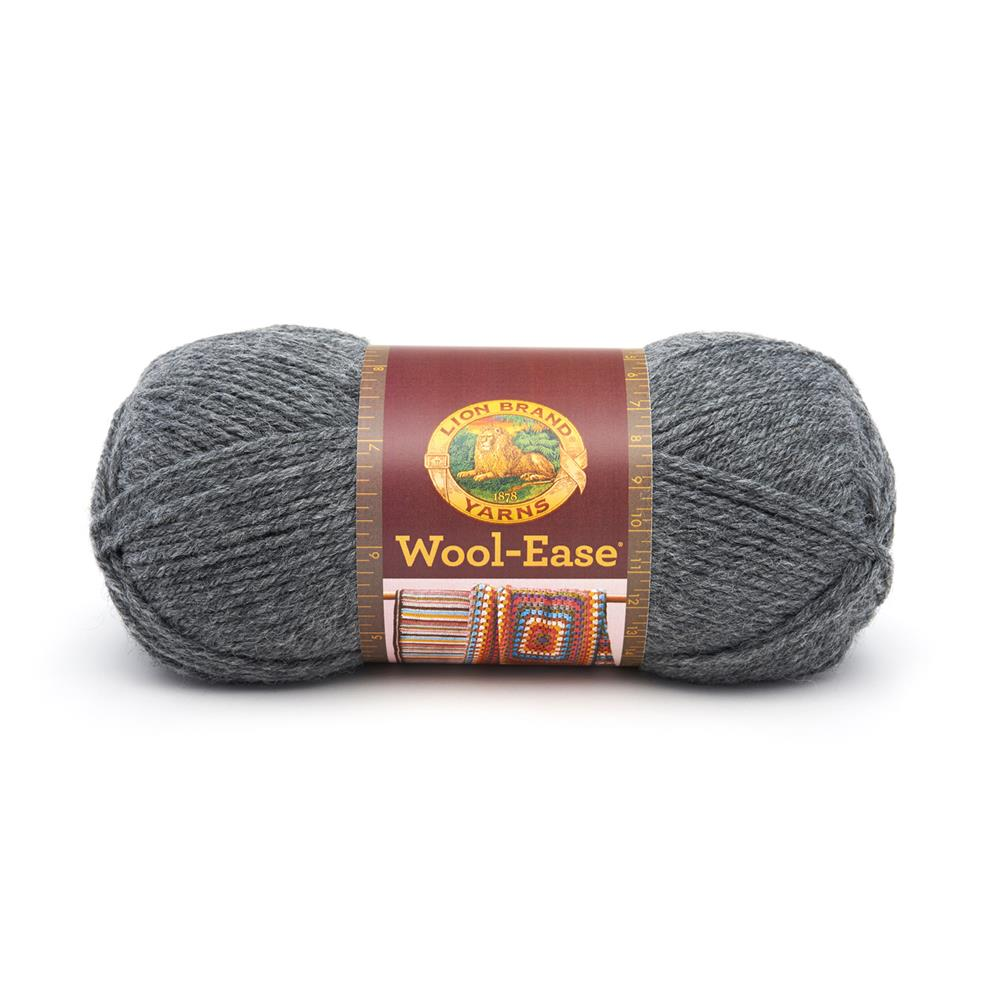 Lion Brand Wool-Ease Yarn (152) Oxford Grey