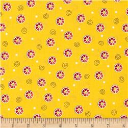 Sew What Bobbin Dots Yellow