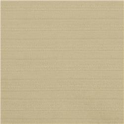 Stretch Ribbed Rayon Blend Suiting Sand Fabric