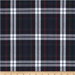 Poly/Cotton Uniform Plaid Red/Green/White