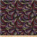 Irresistible Iris Dotted Swirls Purple/Multi