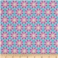 Montana State Flower Montana Bitterroot Teal/Purple