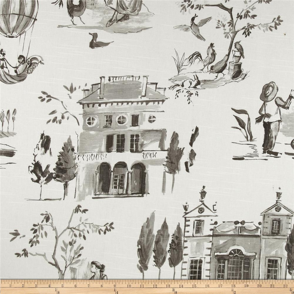 Home Accents Villa Toile Slub Sepia