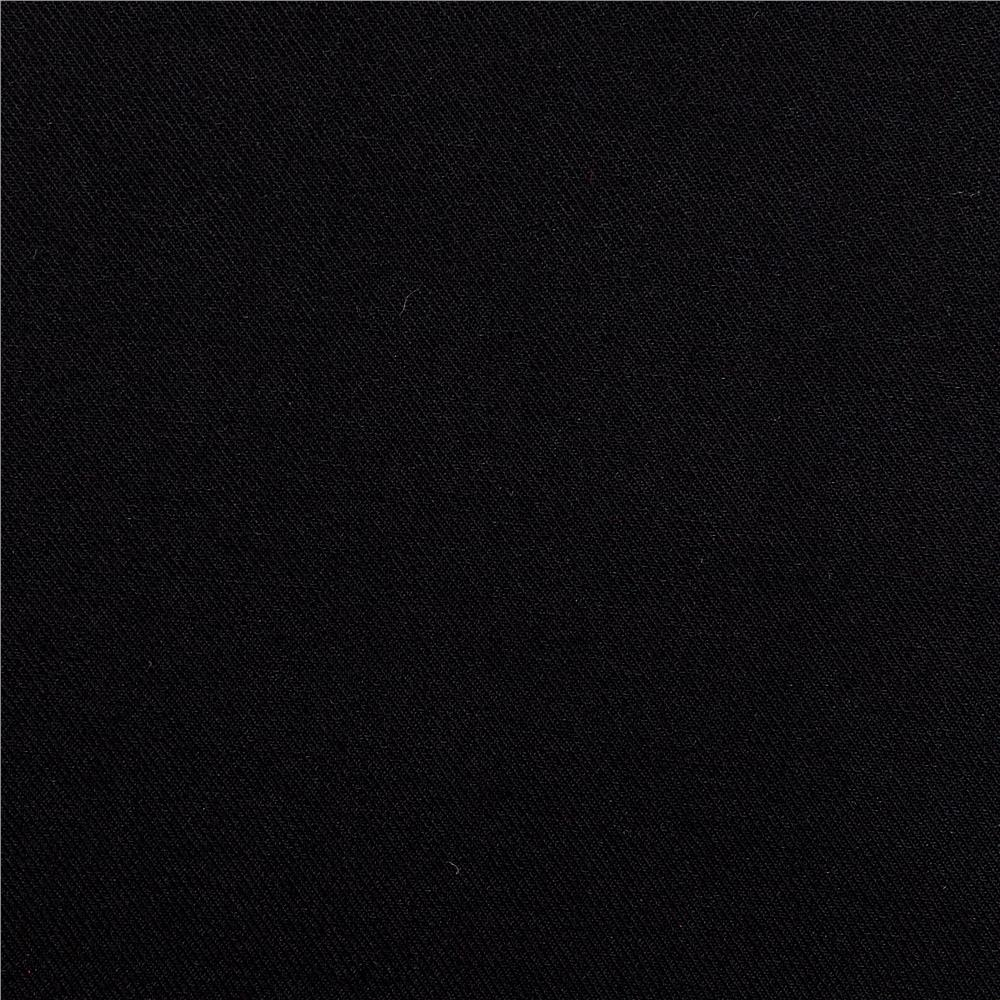 Telio Viscose Twill Black