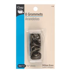 "Dritz Grommets 3/8"" Antique Brass"