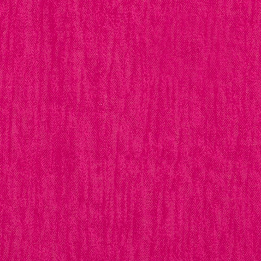 Cotton Gauze Hot Pink