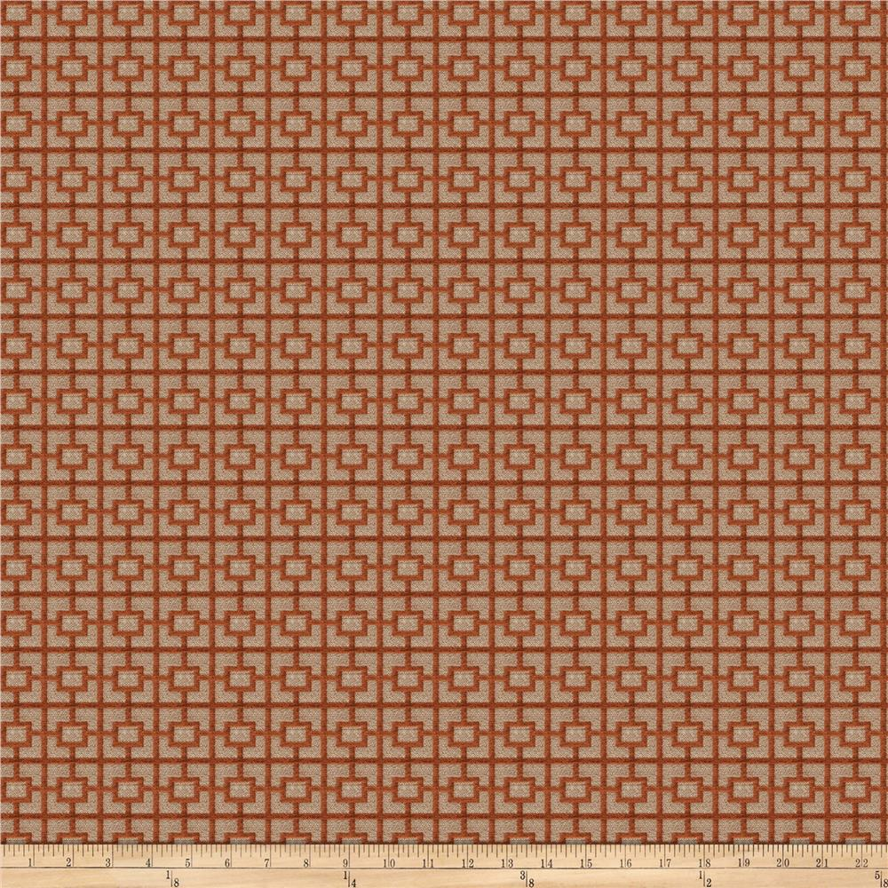 Vern Yip 03357 Chenille Jacquard Spice