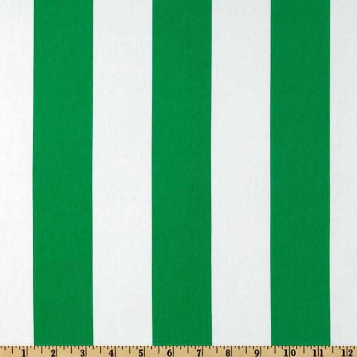 Michael Miller Prepsters Two By Two Stripe Turf
