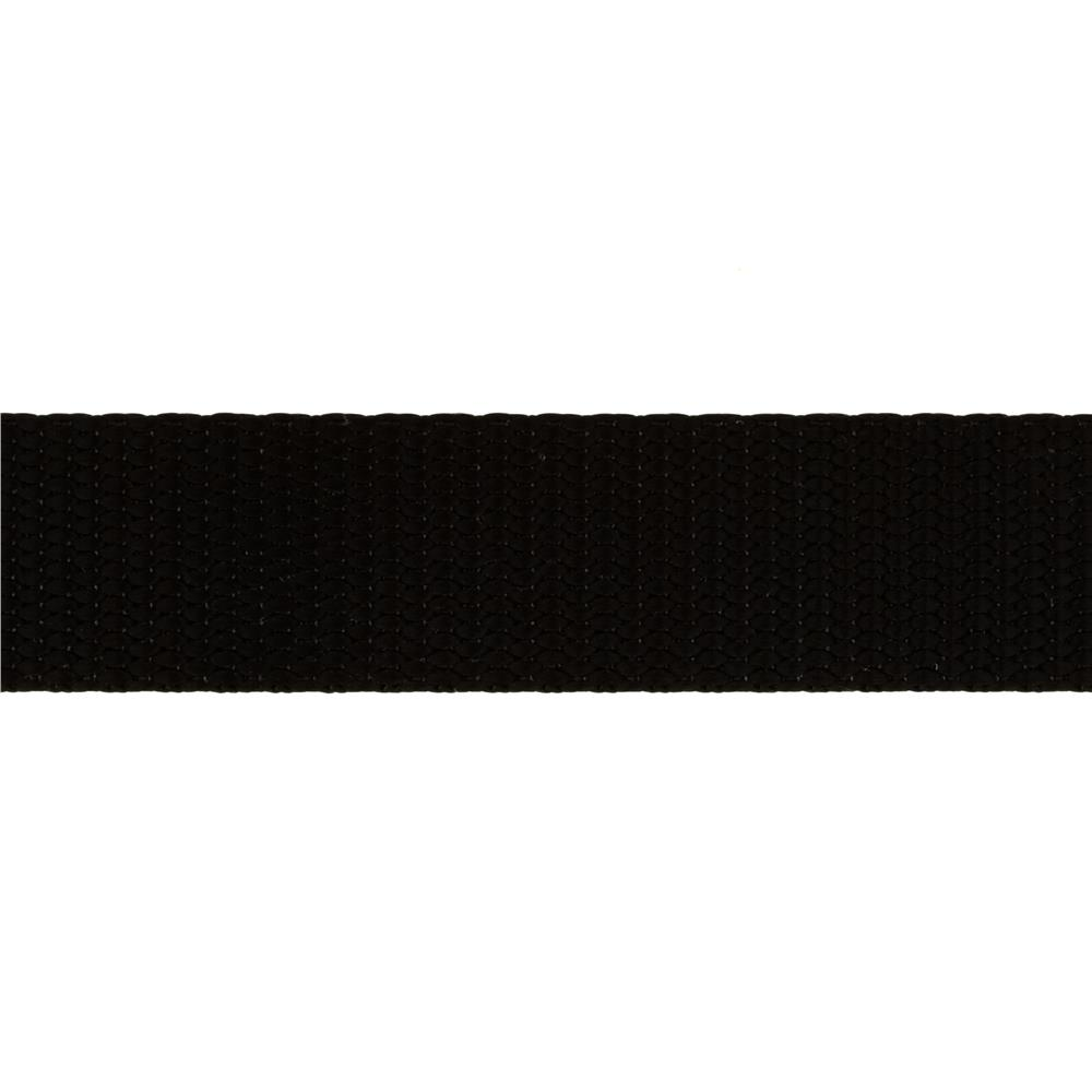 1'' Nylon Webbing Black