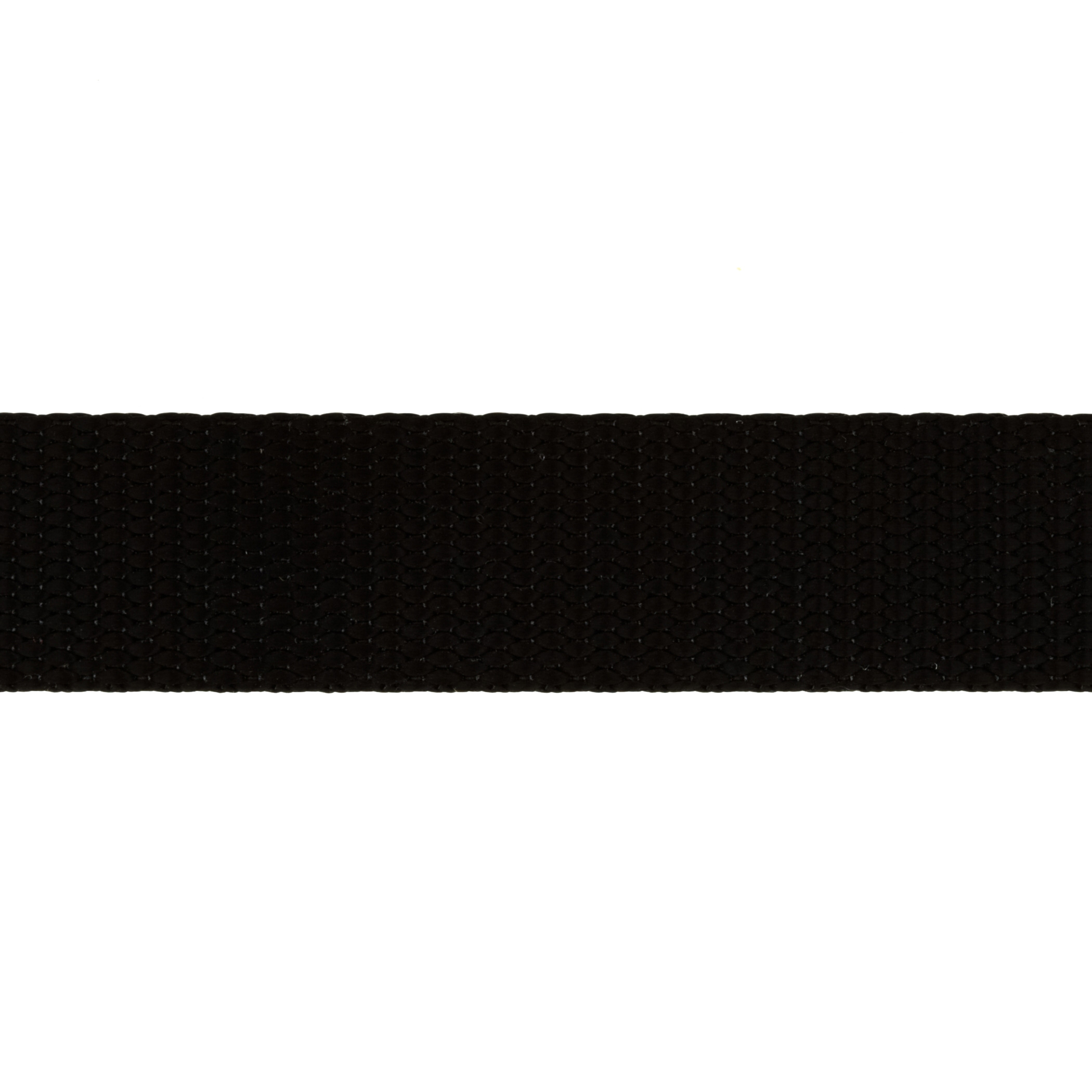 1'' Nylon Webbing Black - By the Yard