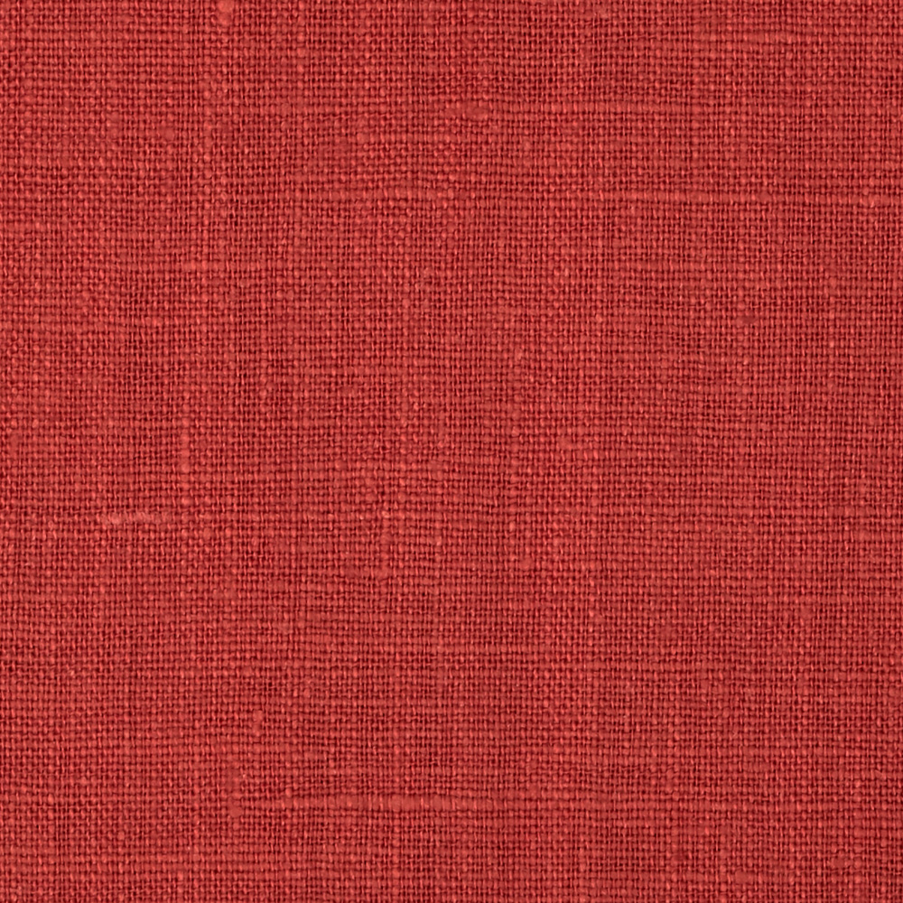 European 100% Washed Linen Ruby Fabric by Noveltex in USA