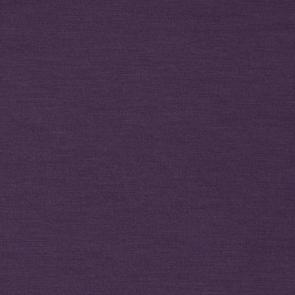 Telio stretch bamboo rayon jersey knit plum discount for Rayon fabric