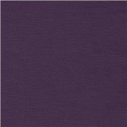 Stretch Bamboo Rayon Jersey Plum Fabric