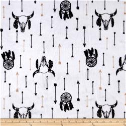 Minky Cuddle Prints Wild Spirit Black/Sand