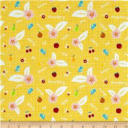 Riley Blake Sweet Orchard Fruit Yellow